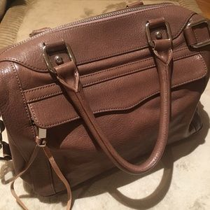 Rebecca Minkoff Taupe Morning After Mini Bag